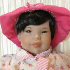 """Precious FAO Schwarz Small 14"""" Asian Baby Doll For Reborn or For Play"""