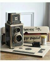 videre 35mm diy pinhole camera with a twin lens reflex design