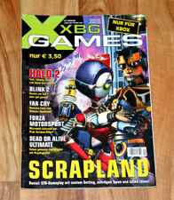 2005 Xbox Magazine Fable Scrapland Splinter Cell Chaos Theory Oddworld Halo 2