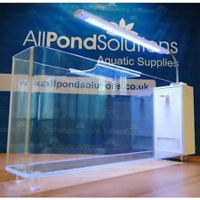 10L Small Nano Aquarium Fish Tank Tropical / Coldwater in White JG-550