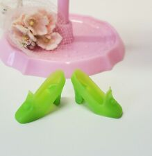 Barbie Mattel Vintage Rare Lime Green Pilgrims Heels Shoes Accessories Clothes!