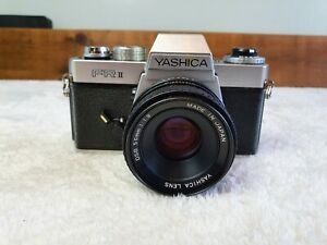 Yashica Fr2 with  f1.9 50mm lens