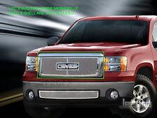 07-13 GMC Sierra 1500/Sierra Denali Stainless Steel Mesh Grille Upper Fedar