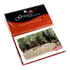 Australian Souvenir Metal Fridge Magnet Australia Aussie Kangaroo Wildlife