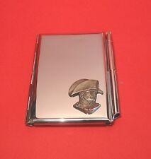 Napoleon Chrome Notebook / Card Holder & Pen History Teacher Christmas Gift