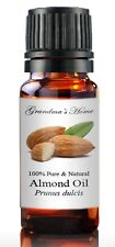 Almond (Sweet) Oil - 5 mL - 100% Pure and Natural - Free Shipping - US Seller