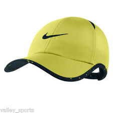 NEW! Venom Green NIKE Golf  Men-Women's Runner DRI-FIT Tennis Hat Featherlight