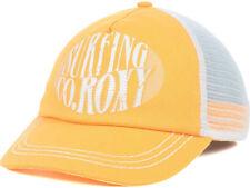 Roxy Women's So Local Trucker Hat Cap - Orange/White