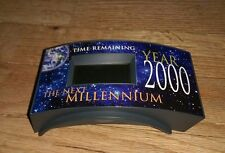 vintage Year 2000 Millennium digital countdown clock Non working time keeping