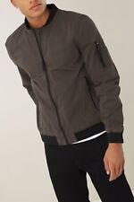 Next Grey Bomber Jacket Size Small