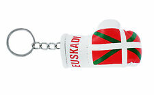 Keychain Mini boxing gloves key chain ring flag key ring euskadi basque vasco