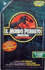 IL MONDO PERDUTO JURASSIC PARK SPERLING KUPFER 1997 CON TATUAGGIO GAIL HERMAN