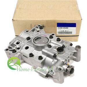 New OEM Oil Pump 23300-2G400 Fit For 2.4L Hyundai Tucson Santa Fe Sport