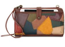 H90 The Sak Multi Color Multi Patch Iris Large Smartphone Crossbody Handbag