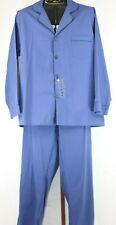 Hanes Mens Navy Blue 2 Piece Pajama Set Size XL NEW