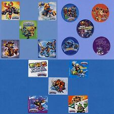 15 Skylanders Assorted - Large Stickers - Party Favors - Rewards