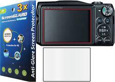 3x Anti-Glare Matte Screen Protector Canon PowerShot SX600 SX610 SX700 SX710 HS