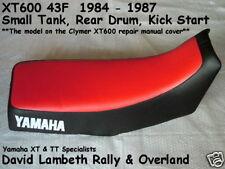 Yamaha Xt600 43f seatcover coprisella Funda De Asiento Housse de Selle Funda Asiento 2t