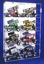 Diecast Display Case Acrylic 1/18 Sprint Car Holds 8 Made in USA New in Box
