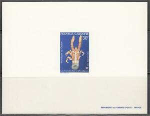 New Caledonia ScC220 Marine Life, Crustaceans, Lobster, Deluxe Proof