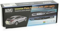 BOYO Vision VTL402CL Chrome Rear View Backup Camera with License Plate Mount NEW