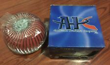 "APC Vortex Universal Racing Style 3"" Mushroom Intake Air Filter and Clamp, RED"