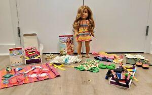 American Girl Doll Lea Clark GOTY 2016 +XTRAS, never used doll