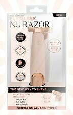 Finishing Touch Flawless Nu Razor Rechargeable 18K Gold Plated Built in Light