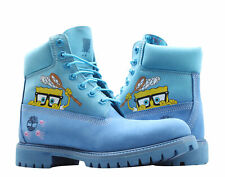 Timberland x Spongebob Premium 6-Inch Waterproof Bright Blue Men's Boots A22T4