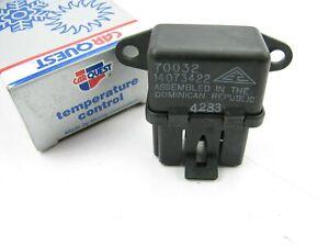 Carquest 208870 Cooling Fan Motor Relay - 83-84 Buick Olds Pontiac 1.8L 2.0L L4