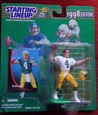 BRETT FAVRE (Green Bay Packers) 1998 STARTING LINEUP FIGURE W/CARD MINT!!