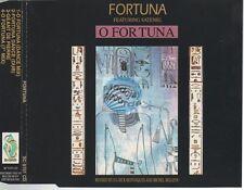 Fortuna O Fortuna CD MAXI featuring satenig