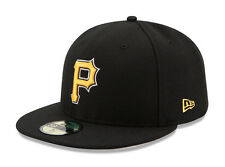 New Era 59Fifty Cap Pittsburgh Pirates 2017 Alternate On Field Fitted Hat Black