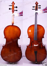 Yinfente 4/4 New Cello Sweet Sound Maple Spruce wood Hand made Free Case Bow