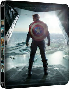 CAPTAIN AMERICA THE WINTER SOLDIER 2D/3D Ltd Bluray Steelbook BRAND NEW SEALED