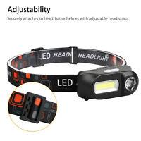 USB Rechargeable LED Headlamp Headlight Head Lamp Torch Flashlight Waterproof X1