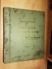 1957 JAGUAR MARK VII PARTS CATALOG NUMBERS LIST BOOK WITH AUTOMATIC TRANSMISSION