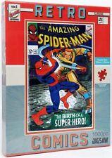 Retro Classic Comics 1 000 Piece Jigsaw Puzzle - The Spiderman