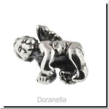 Authentic Trollbeads Sterling Silver 11322 Cherub, Silver :1 RETIRED