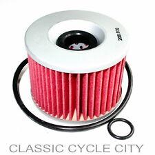 Honda CB 650 C Custom Filtre à huile avec O-Anneaux Oil Élément De Filtre + Joint Torique cb650