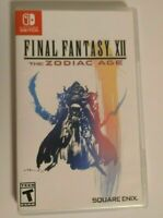 Nintendo Switch Game - Final Fantasy XII The Zodiac Age authentic ship fast