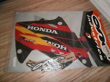 Nummerbord Schwarz Startnummerntafel KTM SX 2003-2005