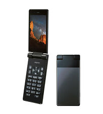 SHARP 501SH 504SH AQUOS KEITAI ANDROID FLIP PHONE BLACK UNLOCKED NEW SH-06G