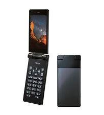 SHARP 501SH 504SH AQUOS KEITAI ANDROID 5.1 FLIP PHONE BLACK UNLOCKED NEW SH-06G