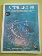 Cthulhu 90 (1987) en français - supplément pour L'Appel de Cthulhu Jeu de rôles