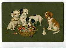 3031852 Jack Russell Terriers. Old Meissner & Buch Pc