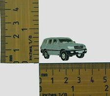 100 Series  Toyota Landcruiser Grey Wagon  Lapel Pin / Badge