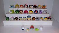 Assorted Disney Tsum Tsum Small, Medium, Large vinyl Figures - LOT of 32
