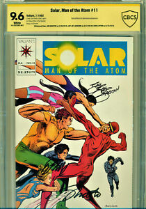 SOLAR #11 CBCS 9.6 SIGNATURE SERIES-3X SIGNED BY SHOOTER, LAYTON, J.J.JACKSON!
