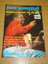 JAZZ JOURNAL INTERNATIONAL VOL 56 #3 2003 MARCH HORACE SILVER BUNNY BERIGAN